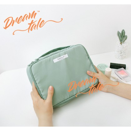 Dreamtale Travel Organizer Make Up Beauty 2 in 1 Cosmetics Toiletries Travel Bag Extra Large Size Travel Pouch Travel Organizer TVL038