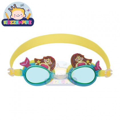 Kidzzempire Cartoon Animal Goggles Kids Swimming Goggles Anti Fog Adjustable Swimming Sports Goggles KID070
