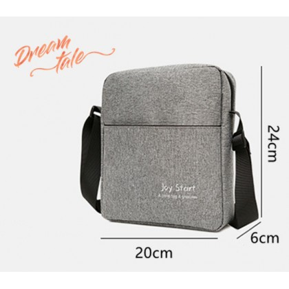 Dreamtale Men Fashion JOY Men Sling Bag Casual Multipurpose Nylon Sling Bag Crossbody MFS025