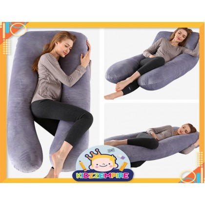 Kidzzempire U Shape Maternity Pillow Multipurpose Pregnancy Cotton Maternity Pregnant Women Pillow BAB007